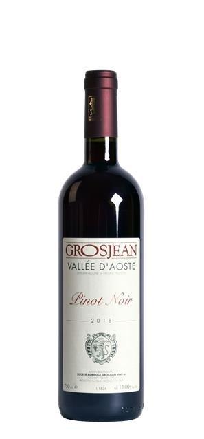 2018 Pinot Noir (0,75L) - Grosjean