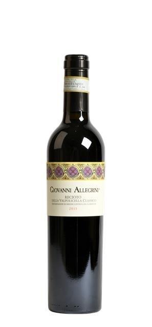 2015 Recioto Classico Giovanni Allegrini (0,5L) - Allegrini