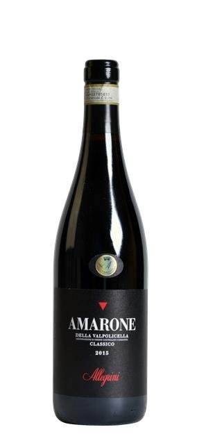 2015 Amarone classico della Valpolicella (0,75L) - Allegrini