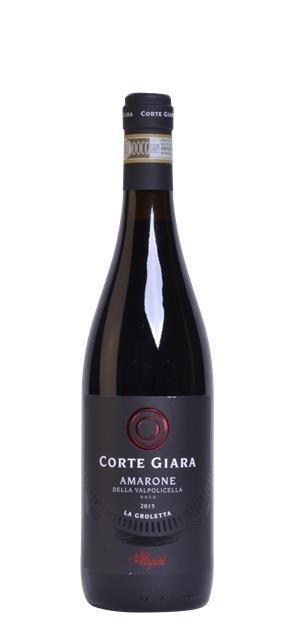 2015 Amarone della Valpolicella (0,75L) - Corte Giara